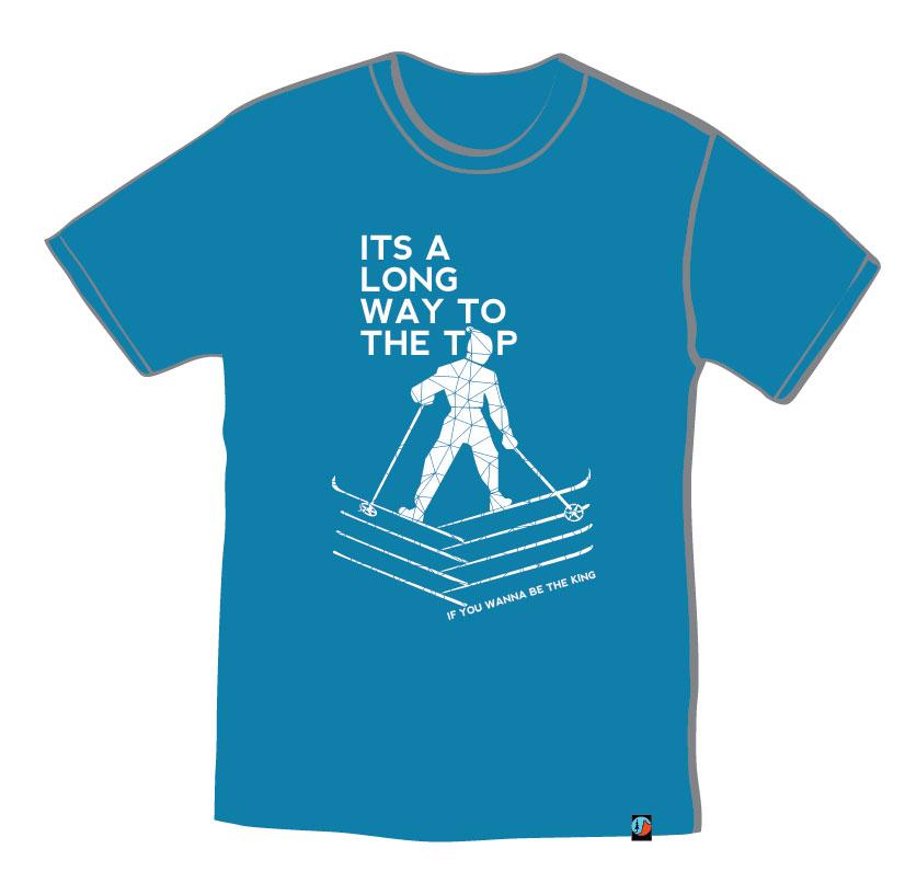 Women's T-Shirt King of Dolomites 2015
